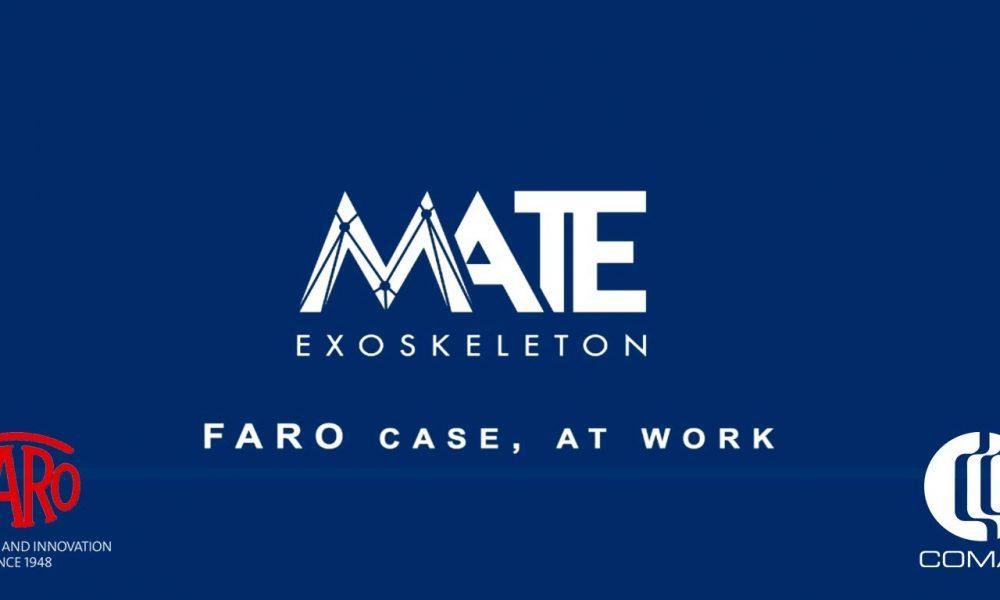 Faro Spa introduce l'esoscheletro MATE, e i dipendenti sono i primi ambassador