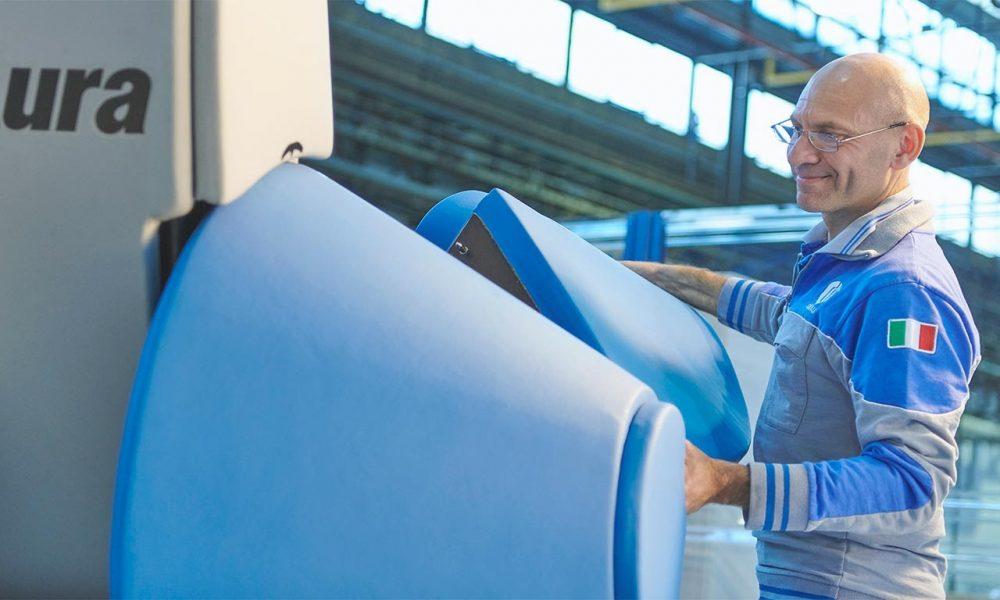 AURA: il cobot ad alto payload per l'industria manifatturiera