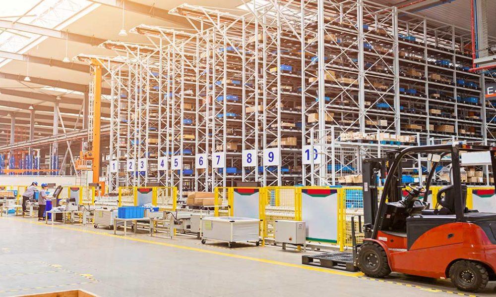 automazione del magazzino commercio online
