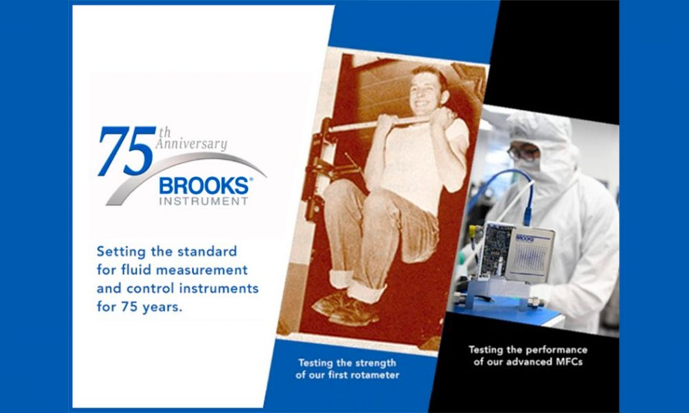 Brooks Instrument celebrates 75 years of innovation in fluid control and measurement
