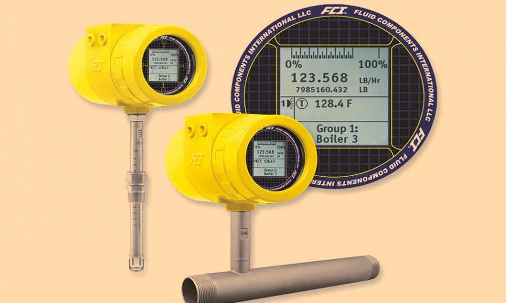 Precision Fluid mass flow meter