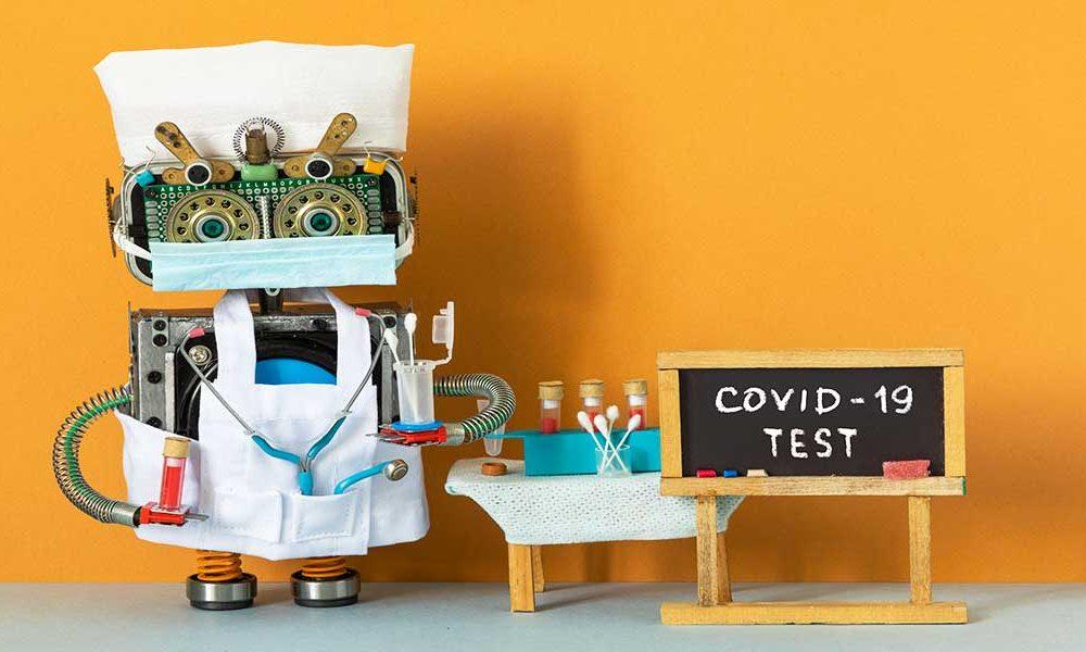 hospital robot against covid