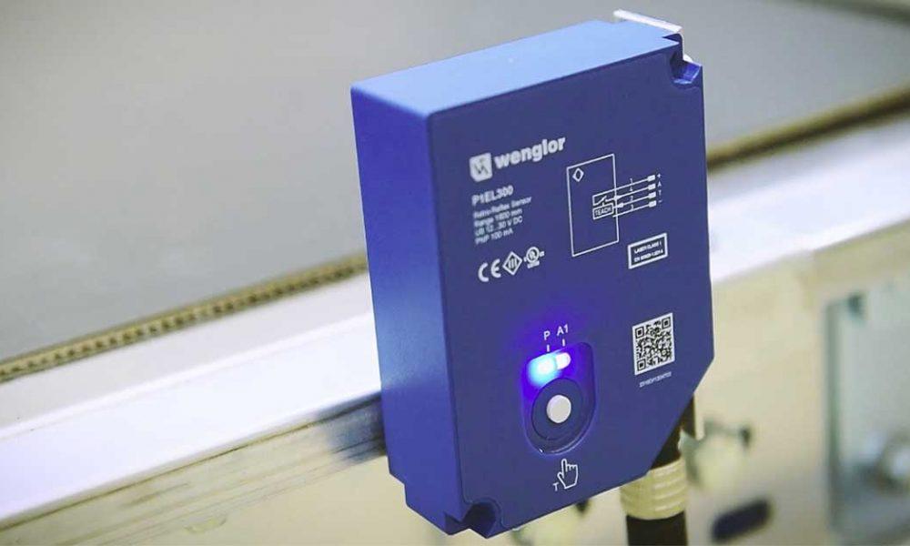 Wenglor sensors optical production line