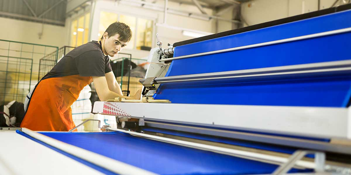 Textile machines: the sector in Italy