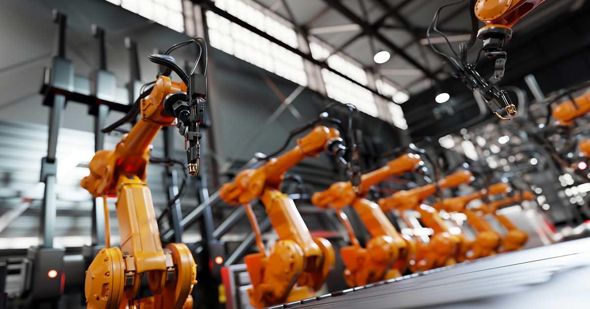 manifattura luci spente robot