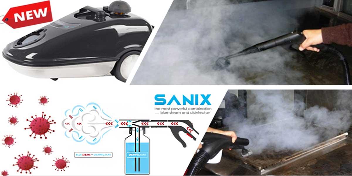 Sanix steam sanitization